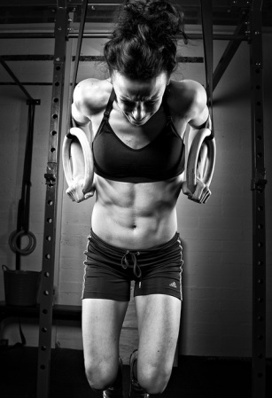 woman and weight lifting
